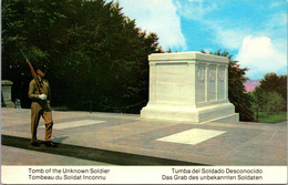 (5 A 9) Older USA Postcard - Tomb Of The Unknown Soldier - Oorlogsmonumenten