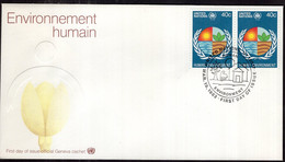 United Nations - 1982 - FDC - Environnement Humain - A1RR2 - Briefe U. Dokumente