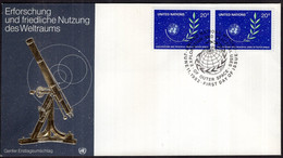 United Nations - 1982 - FDC - Exploration And Peaceful Uses Of Outer Space - A1RR2 - Briefe U. Dokumente