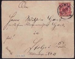Gest., Brief Brief Tsintau Michel V3I Absender Obermatrosenartillerist Götzmann, Tsintanfort, Kautschoubucht Chantung In - Kolonie: Kiautschou