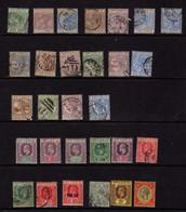 Sainte-Lucie (1883-1903) - -Victoria - Edouard VII -  Georges V - Neufs* Et Oblit - St.Lucia (...-1978)