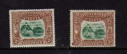 Sainte-Lucie (1902) - 4eme Centenaire De La Decouverte De L'ile Par Colomb - Neufs* - St.Lucia (...-1978)