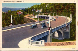 (5 A 9) Older USA Postcard - Reading Viaduct (posted) - Other