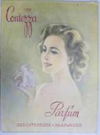 Reklamepappaufhänger Contezza Parfüm 39x29 Cm 1x Aufhängeloch 1x Best. Ecke - Manifesti