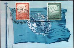 ONU - 1957 - FDC - Special Postmark - Conseil De Securite - A1RR2 - Maximumkarten