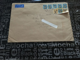 (5 A 9) Cover Posted From Rhodesia To England (large 15 X 18 Cm) - Other