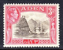 ADEN - 1939 3 ANNA KGVI DEFINITIVE STAMP FINE MNH ** SG 22 - Aden (1854-1963)