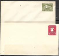 US  1926-32  Sc#U522-3  Postal Envelopes MNH Entires - 1921-40