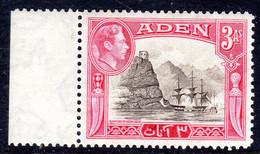 ADEN - 1939 3 ANNA KGVI DEFINITIVE STAMP FINE MNH WITH MARGIN ** SG 22 - Aden (1854-1963)