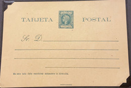 O) PUERTO RICO, KING ALFONSO XIII, POSTAL STATIONERY - Other