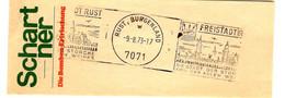 52801 - RUST  BURGENLAND - Briefe U. Dokumente