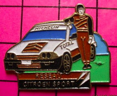 412D Pin's Pins / Beau Et Rare / THEME : AUTOMOBILES / CITROEN RALLYE RESEAU SPORT - Citroën