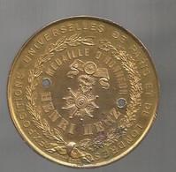 Médaille D'honneur Expositions Universelles De PARIS Et LONDRES , équipe Les Pianos HENRI HERZ , Frais Fr 3.35 E - Professionnels / De Société