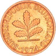 Monnaie, République Fédérale Allemande, Pfennig, 1974, Stuttgart, TB, Copper - 1 Pfennig