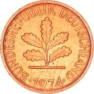 Monnaie, République Fédérale Allemande, Pfennig, 1974, Stuttgart, TB+, Copper - 1 Pfennig