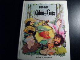 ROBIN DES BOIS POP-HOP HALLMARK ROUGE ET OR 1969 - Non Classificati
