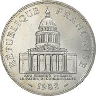 Monnaie, France, Panthéon, 100 Francs, 1982, Paris, SUP, Argent, Gadoury:898 - N. 100 Francs