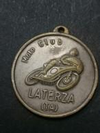 LATERZA TARANTO  1976  Raduno Moto  Medaglia Medal - Professionali/Di Società