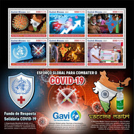 Guinea Bissau 2021 Global Effort In Fighting Covid-19. (230) OFFICIAL ISSUE - Medicina