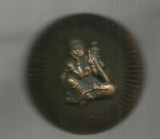 BROCHE Asiatique, 4 Bras , Diamètre 50 Mm , 2 Scans, Frais Fr 3.35 E - Broschen