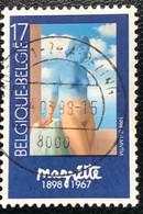België - Belgique -  C2/23 - (°)used - 1998 - Michel 2797 -  Magritte - Zwarte Magie - Moderni