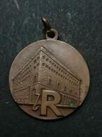 Medaglia Pubblicitaria Riapertura La Rinascente Di Milano Duomo 4 Dic 1950 MEDAL - Professionali/Di Società