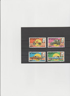Mali 1987 - (Michel)  1089/92  Used - Mali (1959-...)