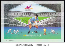 MALAYSIA - 2002 WORLD CUP OF HOCKEY - MIN. SHEET MINT NH IMPERF - Hockey (Field)