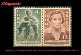 CUBA MINT. 1957-09 BANDO DE PIEDAD - Unused Stamps