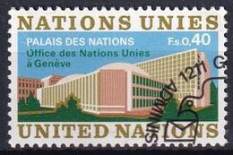 UNO GENF 1972 Mi-Nr. 22 O Used - Aus Abo - Gebraucht