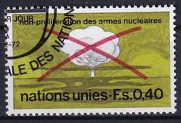 UNO GENF 1972 Mi-Nr. 23 O Used - Aus Abo - Gebraucht