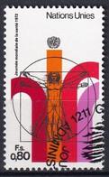 UNO GENF 1972 Mi-Nr. 24 O Used - Aus Abo - Gebraucht