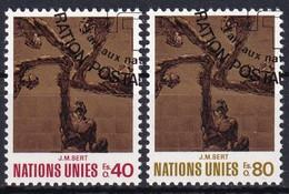 UNO GENF 1972 Mi-Nr. 28/29 O Used - Aus Abo - Gebraucht