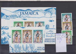 Jamaica Michel Cat.No. Mnh/** 207/209 A/B + Sheet 2 - Jamaica (...-1961)