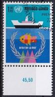 UNO GENF 1974 Mi-Nr. 45 O Used - Aus Abo - Gebraucht