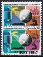 UNO GENF 1975 Mi-Nr. 46/47 O Used - Aus Abo - Gebraucht