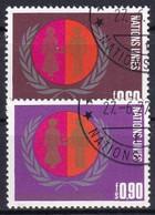UNO GENF 1975 Mi-Nr. 48/49 O Used - Aus Abo - Gebraucht