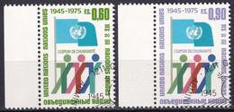 UNO GENF 1975 Mi-Nr. 50/51 O Used - Aus Abo - Gebraucht