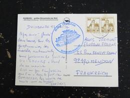 LETTRE ALLEMAGNE DEUTSCHLAND GERMANY AVEC YT 763 - CACHET BOOT DELPHIN DUISBURG RUHRORT - MS STADT DUISBURG - Briefe U. Dokumente