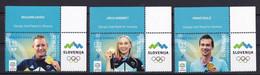 SLOVENIA  2021,NEW  15.10 ,SPORT, GOLD OLYMPIC MEDAL TOKYO,GAMES,ROGLIC,SAVSEK, GARNBRET,MNH - Slovenia