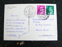 LETTRE ESPAGNE SPAIN ESPANA AVEC OBLITERATION PICO TEIDE AGENCIA AUXILIAR PARADOR CANADAS DEL TEIDE TENERIFE - 1981-90 Storia Postale