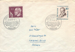 Hannover Versammlung Der Gesellschaft Der Naturforscher & Ärzte 1960 - Medicina