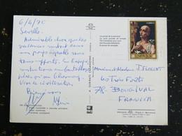 LETTRE ESPAGNE SPAIN ESPANA AVEC YT 1617 SAINT JEROME - CORDOBA COUR CORDOVAN - 1961-70 Storia Postale