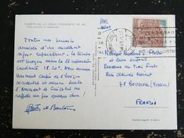 LETTRE ESPAGNE SPAIN ESPANA AVEC YT 1642 EL PORTALON VICTORIA - PUERTO DE LA CRUZ TENERIFE - 1971-80 Storia Postale