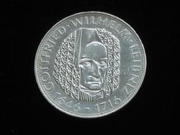 ALLEMAGNE - 5 Mark (silver) 1966 - Goottfried Wilhelm Leibniz 1646-1716  **** EN ACHAT IMMEDIAT **** - 5 Mark