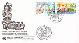 United Nations Vienna FDC 1994 Population And Development (DD31-49) - FDC