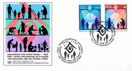 United Nations Vienna FDC 1994 International Year Of The Family (DD31-49) - FDC
