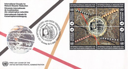 United Nations Vienna FDC 1994 International Year For Natural Disaster Reduction (DD31-49) - FDC