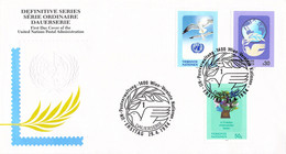 United Nations Vienna FDC 1994 Definitives (DD31-49) - FDC