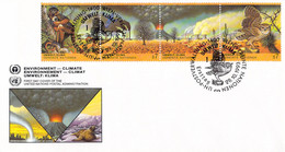 United Nations Vienna FDC 1993 Environment Climate (DD31-49) - FDC
